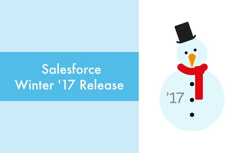 Top 10 Salesforce Winter '17 Release Highlights