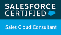 Sales Cloud Consultant Certification Logo