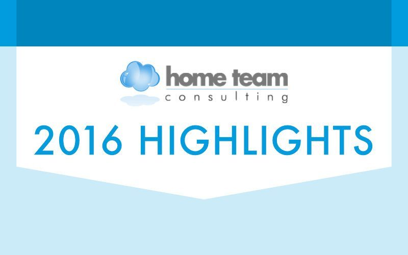 Year in Review: Home Team Consulting's 2016 Highlights